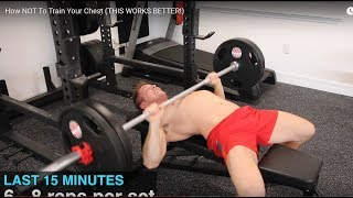 Re: ScottHermanFitness - How NOT To Train Your Chest (THIS WORKS BETTER!)