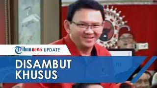Pakai Baju Kader Partai, Ahok Disambut Megawati di Kongres ke V PDIP: Pak Purnama Apa Kabar?