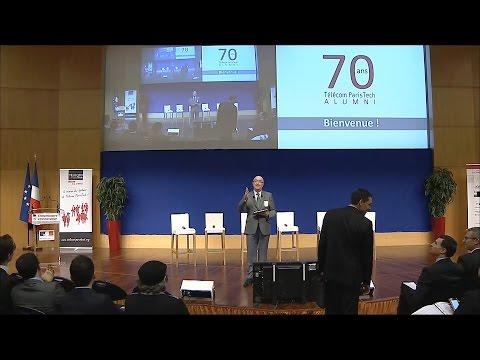 Cérémonie des 70 ans de Télécom ParisTech alumni - 8 décembre 2014