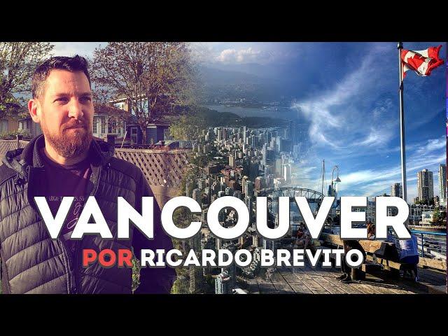 Como é MORAR EM VANCOUVER?? 🇨🇦 - Entrevista com Ricardo Brevito 🎙 #AmigosSemFronteiras