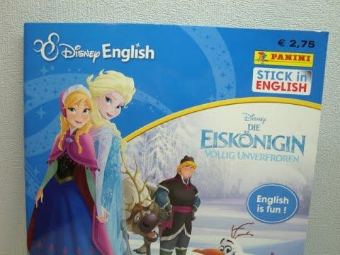 PANINI-Disney English-la reine-sammelsticker série 4-1 blister
