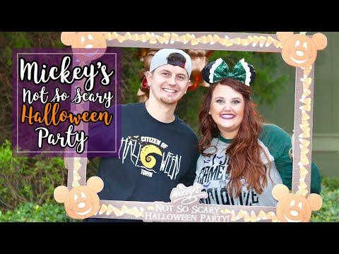 Mickey's Not So Scary Halloween Party   Oct '17 Disney World Vlogs   Disney At Heart