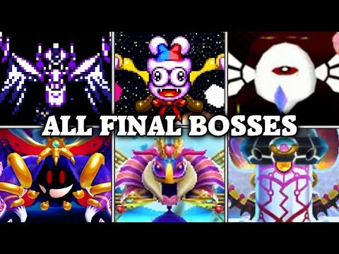 Evolution of Final Boss Fights in Kirby games (1992 - 2016)