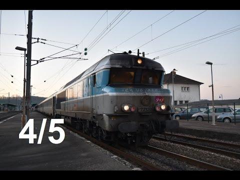 De Paris-Est à Culmont-Chalindrey en cabine d'une CC 72100 - Ligne 4 [4/5]
