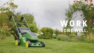 John Deere Gågräsklippare Gräsklippning