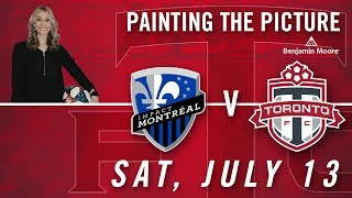 Painting the Pictue pres. by Benjamin Moore | Toronto FC vs. Montreal Impact
