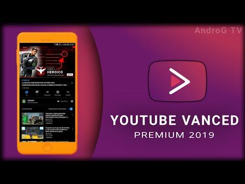 YouTube Vanced Black PREMIUM APK 2019! No Ads, Segundo Plano! • MARKETEROK