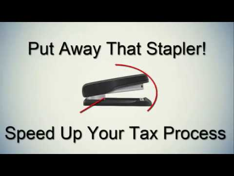 Think Twice Before Stapling State Tax Documents