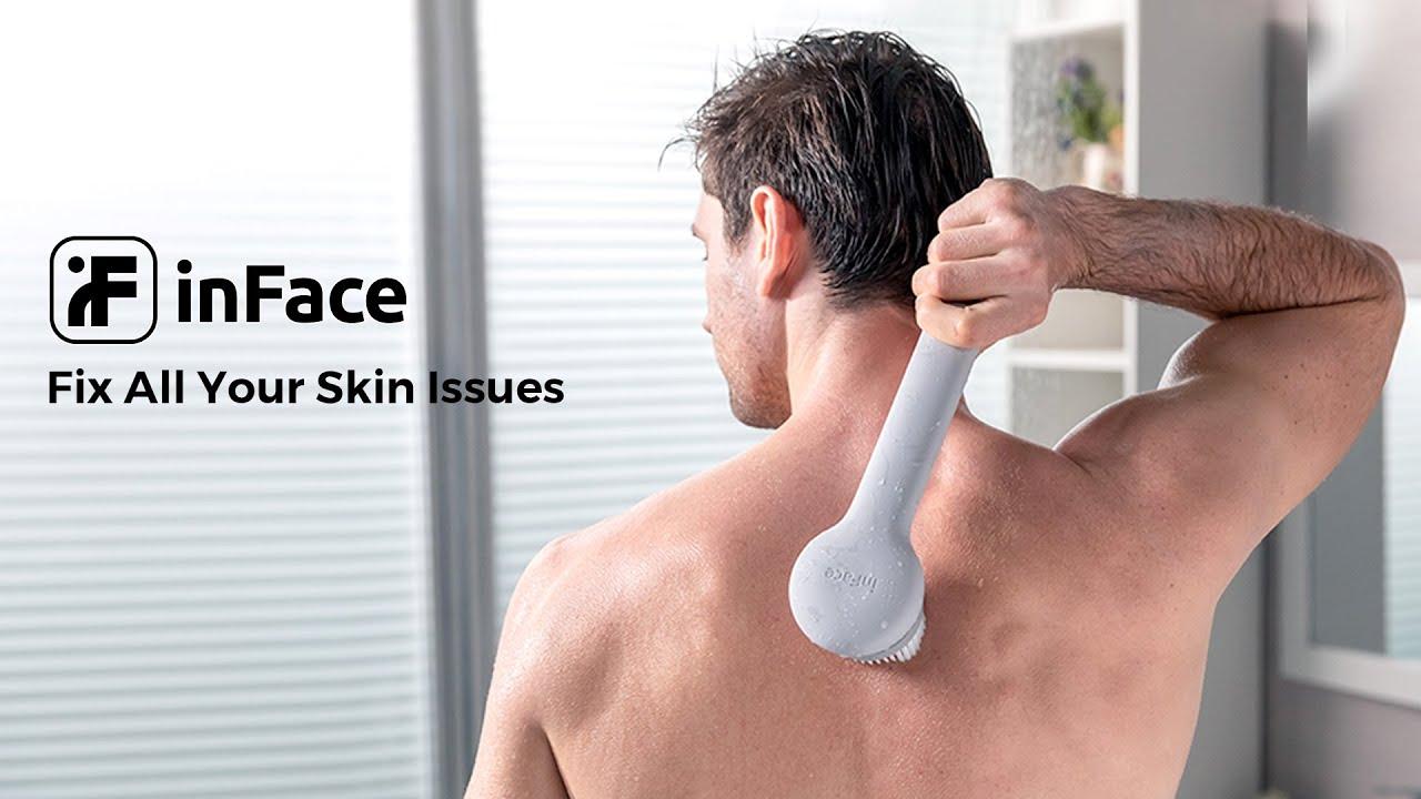 inFace Smart Body Cleansing Brush | Indiegogo