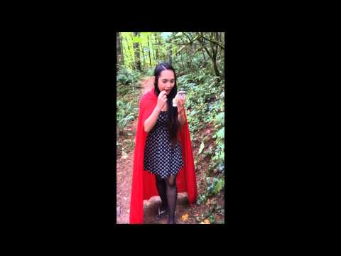 Behind The Scenes Part 1 - Little Red Riding Hood Photoshoot