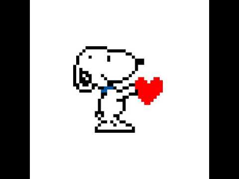 Pixel Art Snoopy Youtube