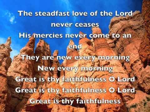Maranatha singers The steadfast love of the Lord