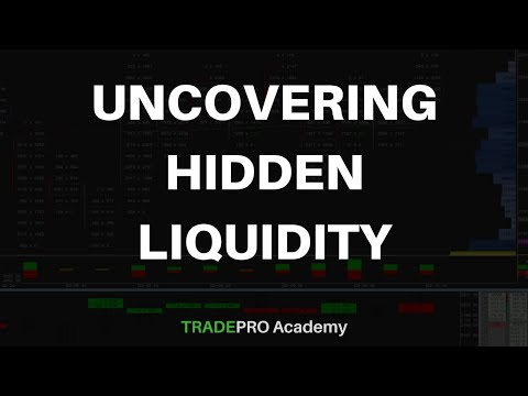 Uncovering Hidden Liquidity in Day Trading Futures, Forex and Cryptocurrency