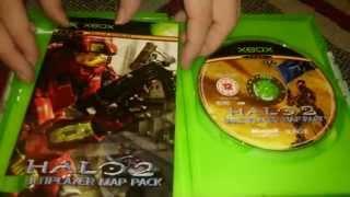 Nostalgamer Unboxes Halo 2 Multiplayer Map Pack On Microsoft Xbox UK PAL System Version