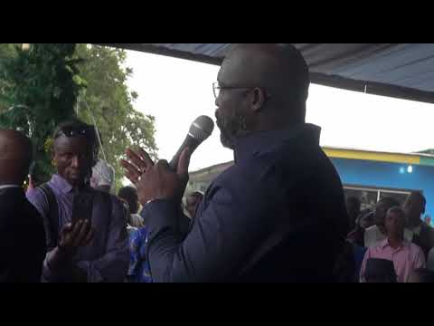 George Weah Acceptance Speech of Liberty party's endorsement