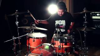 Between Angels and Insects - Papa Roach drum cover by aot