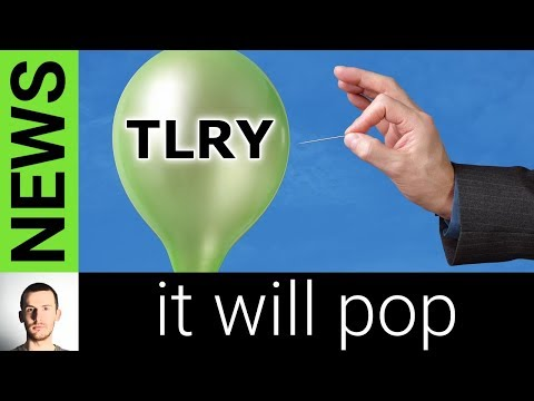 Tilray Stock Madness – TLRY Stock Up 100% then Crashes 50% in a Single Day
