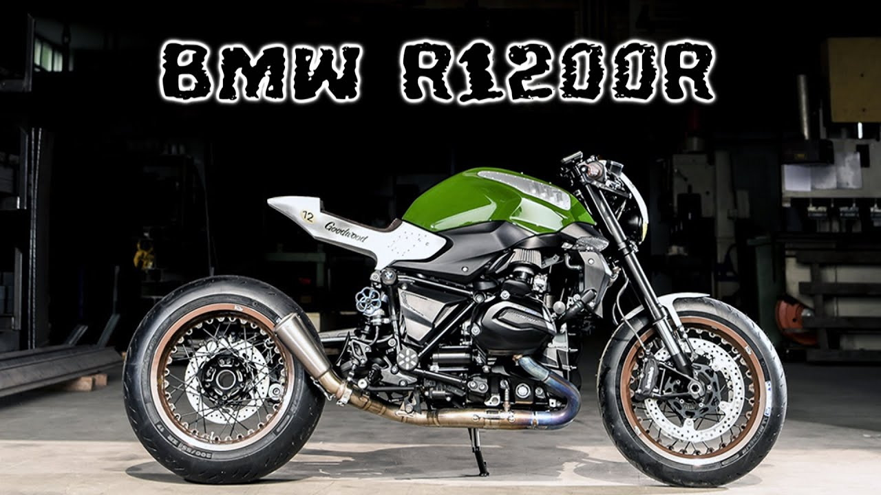 Bmw R1200r Cafe Racer Youtube