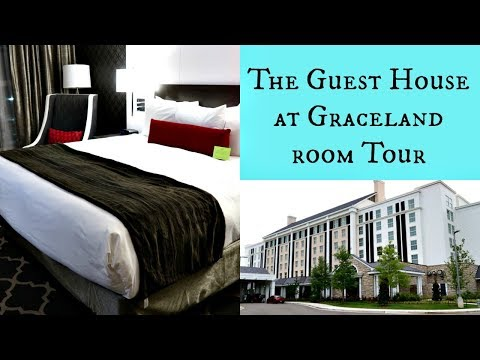 The Guest House At Graceland King Bed Room Tour Memphis | July 2017