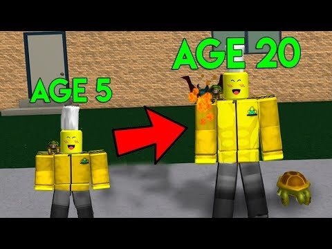 ROBLOX GROWING UP SIMULATOR *BECOMING OLD!*
