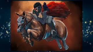 Создание персонажа на коне (speed painting)