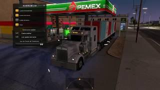 American Truck Simulator   Kenworth Doble Semi Remolque 14T De Juguetes A Mazatlan