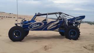 1100 hp Extreme Sandrail at the dunes!