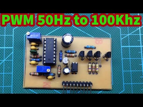 Module PWM SG3525 50Hz to 100Khz