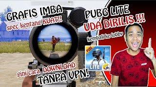 UDA RILIS !!CARA DOWNLOAD PUBG LITE !!! SERU ABIS LGS BARBAR !!! - PUBG LITE INDONESIA