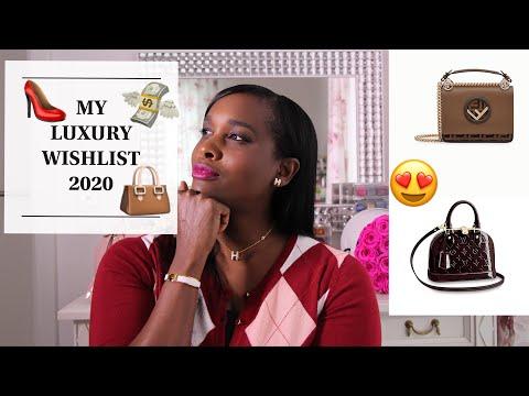 My Luxury Wish List 2020   Hermès   Louis Vuitton   Balmain   Fendi & Chanel.