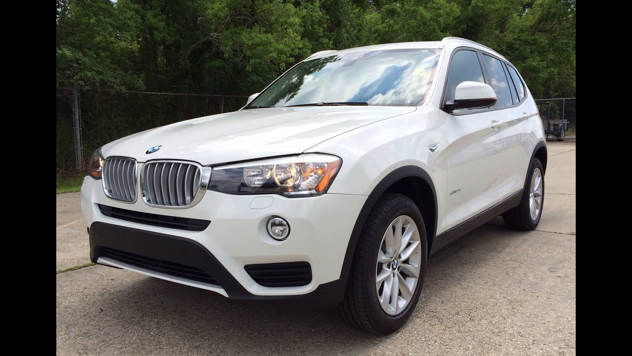 2015 BMW X3 SDrive28i Exhaust Start Up And In Depth Review