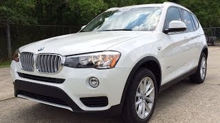 2015 BMW X3 sDrive28i Exhaust, Start Up and In Depth Review