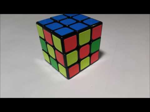 Algorithm to have 3 sides solved and 3 sides mixed (Rubik's Cube)