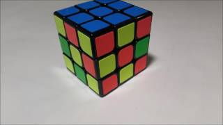 Algorithm to have 3 sides solved and 3 sides mixed (Rubik