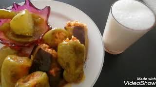 Biber, patlıcan karışık dolma nasıl yapılır? 👌👍