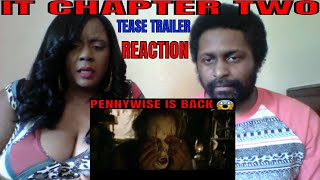 IT CHAPTER TWO - Tease Trailer REACTION!