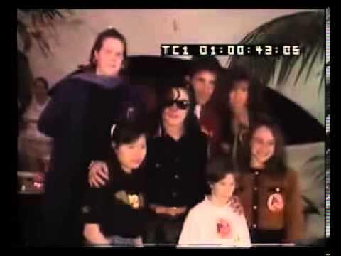 Dinner With Michael Jackson RARE 1993