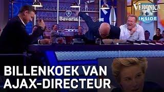 Krijgt Daphne Koster billenkoek van Edwin van der Sar? | VERONICA INSIDE