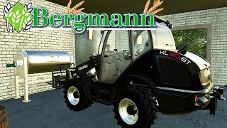 LS19  HOF BERGMANN #028 - Fendt 515c Black Beauty, Neue Map Version | LANDWIRTSCHAFT SIMULATOR 19