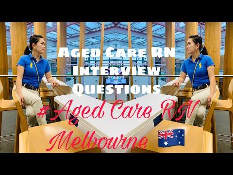 Aged Care Interview Questions 👌 Melbourne Australia