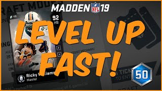 I Know The Secret On How To Level Up Fast In MUT 19!