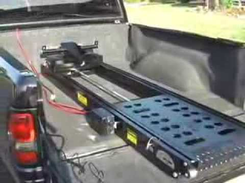 Toyota Tundra 57 Power Lift Motorcycle Trailer Ramps From Rampage Lifts ...