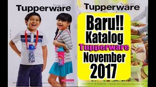 Gambar cover Katalog Tupperware November 2017