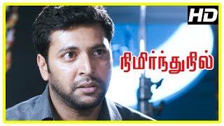 Nimirnthu Nil Movie Scenes | Jayam Ravi reveals the truth | Sarathkumar tries to stop Jayam Ravi