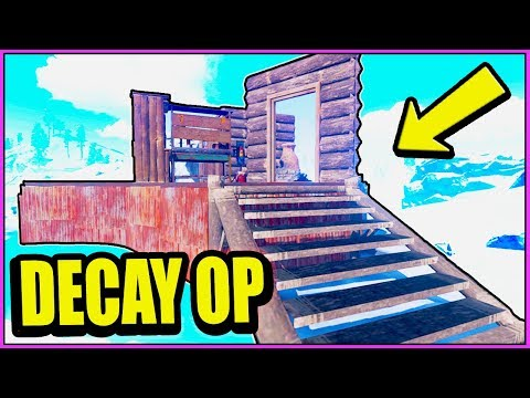 NEW DECAY is OP FREE LOOT! - SOLO Raiding RICH BASES - BUILDING 3.0 upkeep ( Rust Eco Raids PvP )