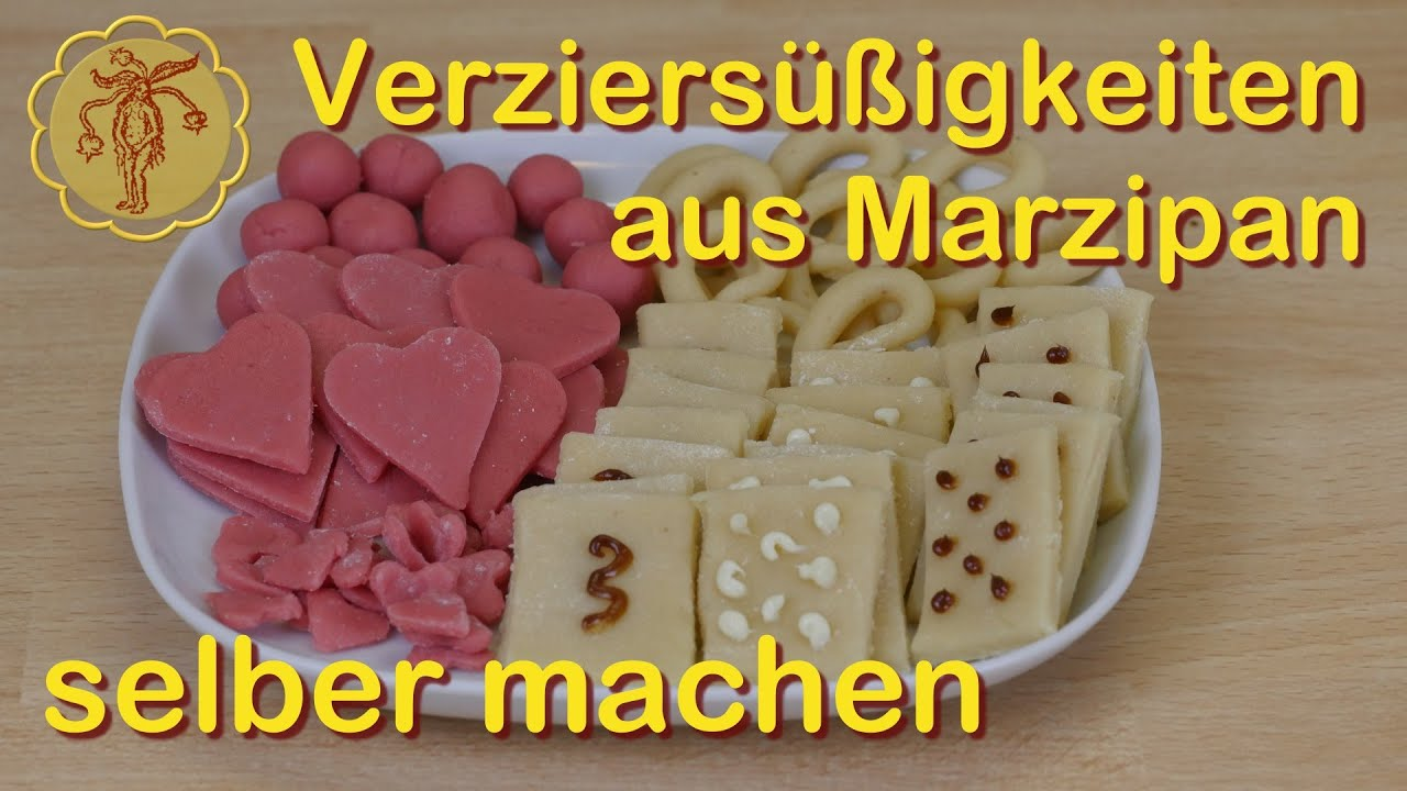 s igkeiten aus marzipan zum lebkuchen verzieren selber machen youtube. Black Bedroom Furniture Sets. Home Design Ideas