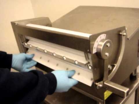 how to clean a dough sheeter