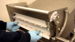 how to clean the somerset industries cdr 500 dough sheeter