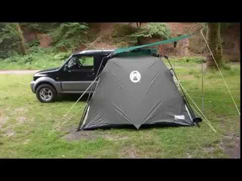 jimny camping set up youtube. Black Bedroom Furniture Sets. Home Design Ideas