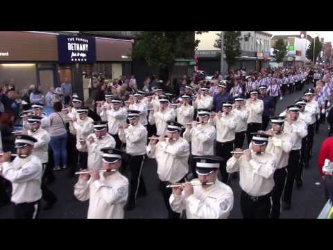 East Belfast Battle Of The Somme Commemoration  Parade 2017